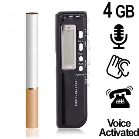600-Stunden TELEFON-RECORDER, 4 GB