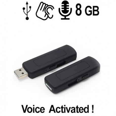 USB SPY-Recorder, Audiowanze (VAS) 8 GB