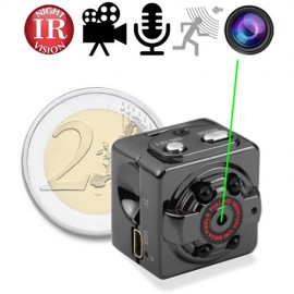 HD Mini-SpyCam mit IR-Nachtsicht