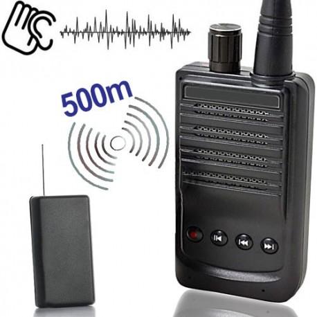 Minisender-Abhörgeräte Set-500